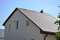 Монтаж покрівельного конькового вентиля для металлоцерепицы, фото 1