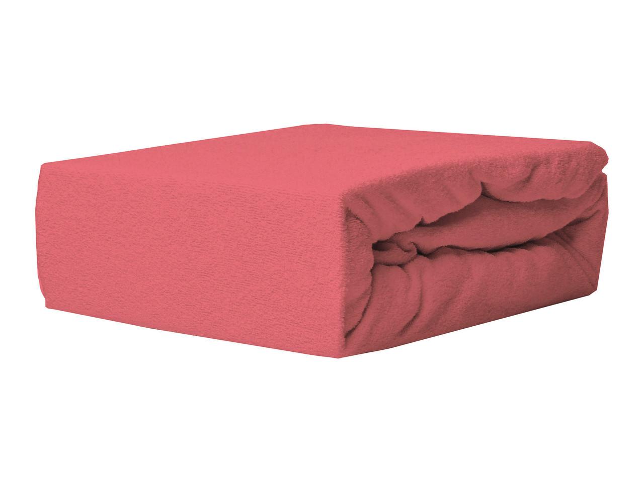 Простыня Махровая На резинке NR 038 P.P.H.U. J&M 6528 200x220 см Красная