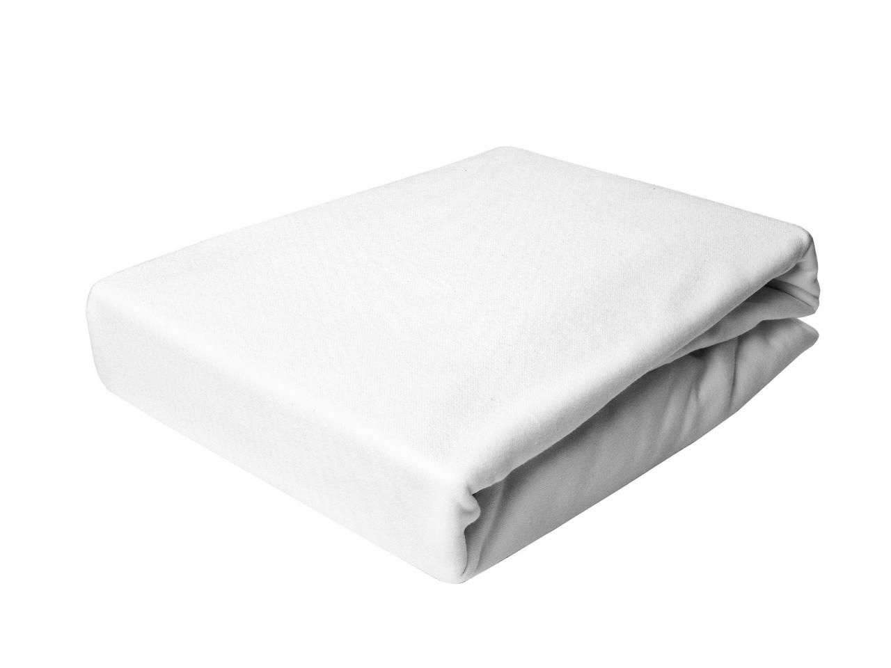 Простыня Трикотажная На резинке NR 014 P.P.H.U. J&M 4999 90x200 см Белая