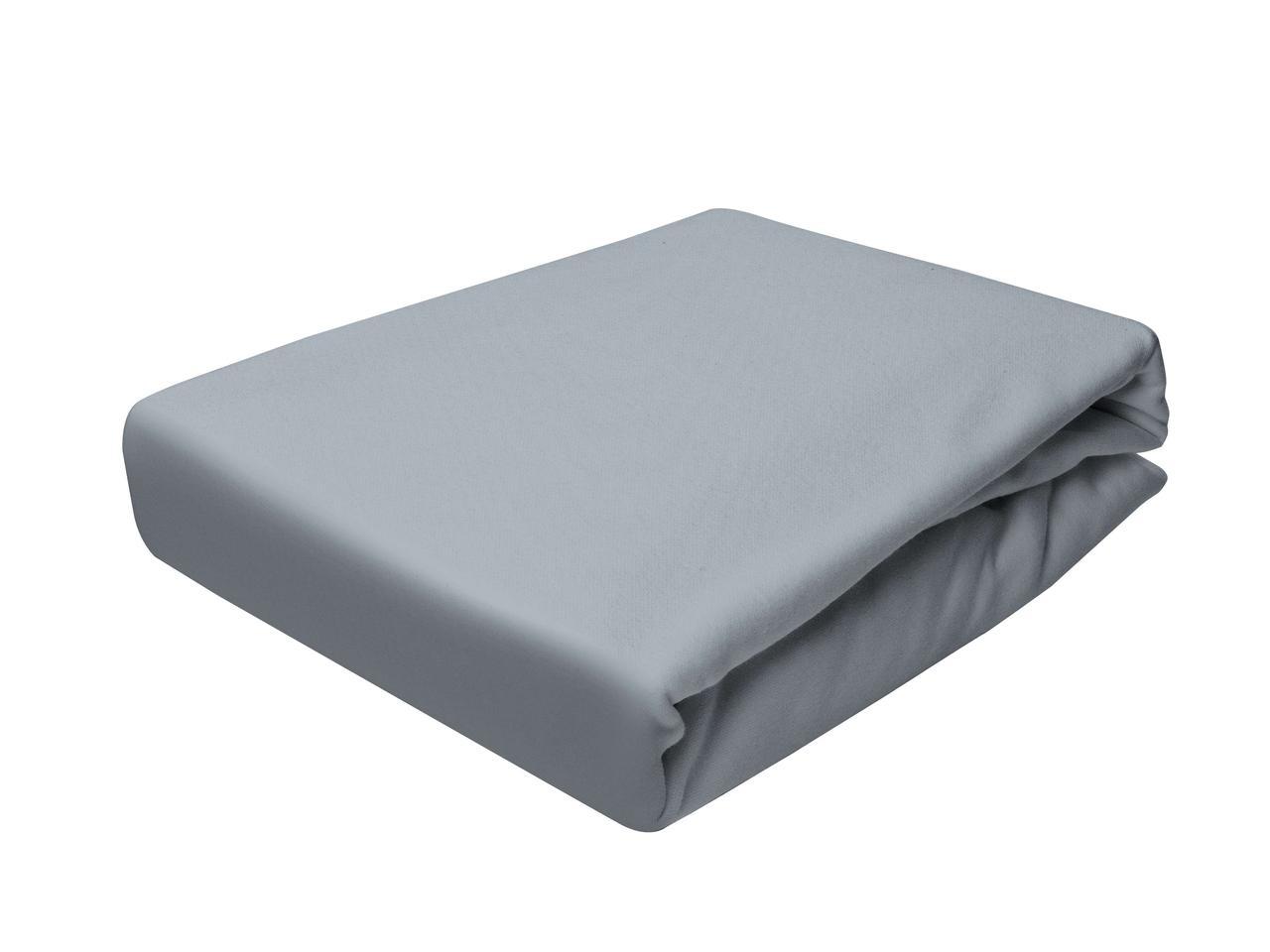 Простыня Трикотажная На резинке NR 155D Darymex 5141 60x120 см Серая