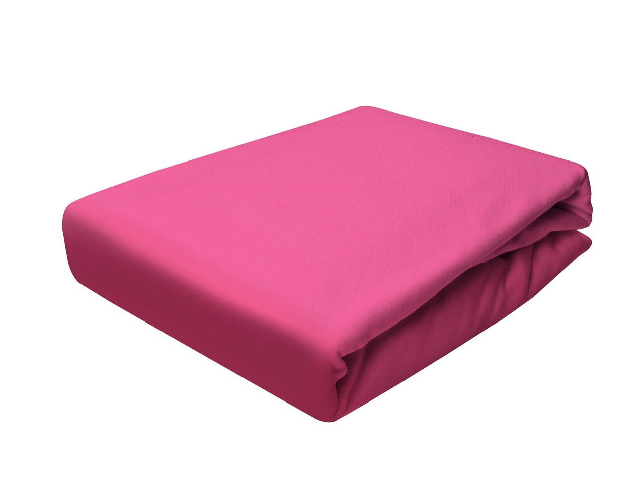 Простыня Трикотажная На резинке NR 023D Darymex 8779 200x220 см Розовая