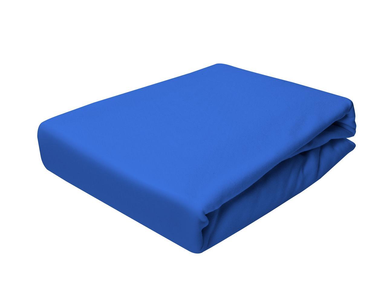 Простыня Трикотажная На резинке NR 017D Darymex 1823 90x200 см Синяя