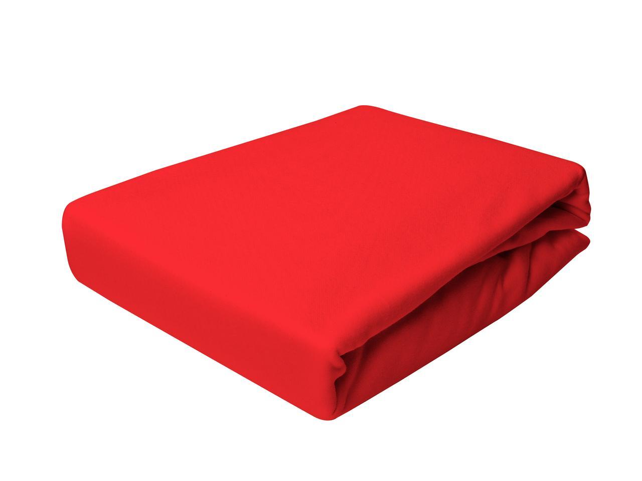 Простыня Трикотажная На резинке NR 016D Darymex 9781 180x200 см Красная