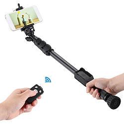 Выдвижная селфи палкаYunteng VST-388,монопод,Bluetooth, пульт дистанционного управления, для смартфона
