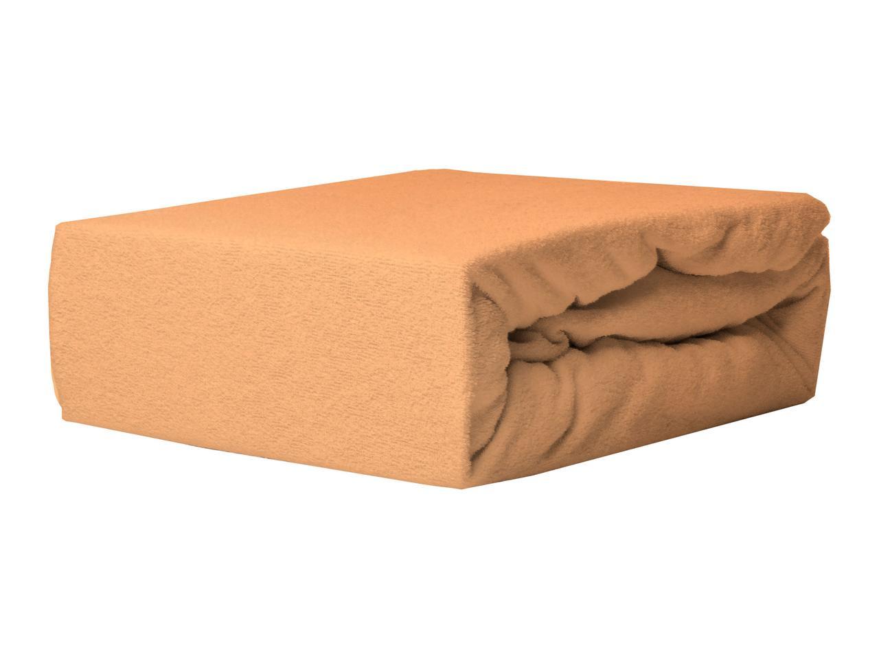 Простыня Махровая Без резинки NR 010D Darymex 3873 160x200 см Оранжевая