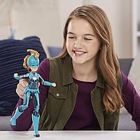 Кукла Марвел Marvel Captain Marvel (Starforce) Super Hero Doll with Helmet Accessory