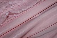 Пудра розовая. креп костюмка барби напыление глистер, фото 1