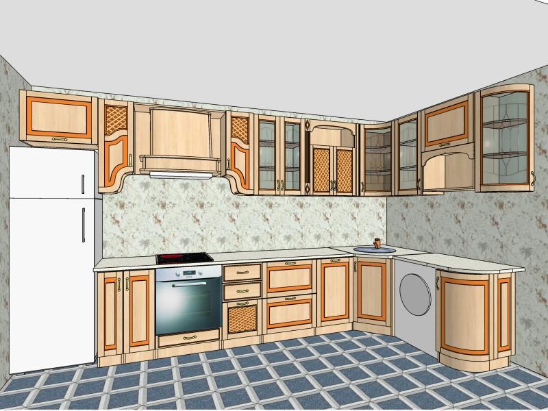 Кухня Юля Нова в Нетешине