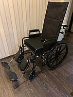 Инвалидная коляска, инвалидное кресло США. Інвалідна коляска (с откидной спинкой) Б/у