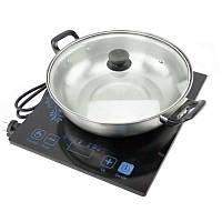 Переносная индукционная плита + кастрюля (HT367)