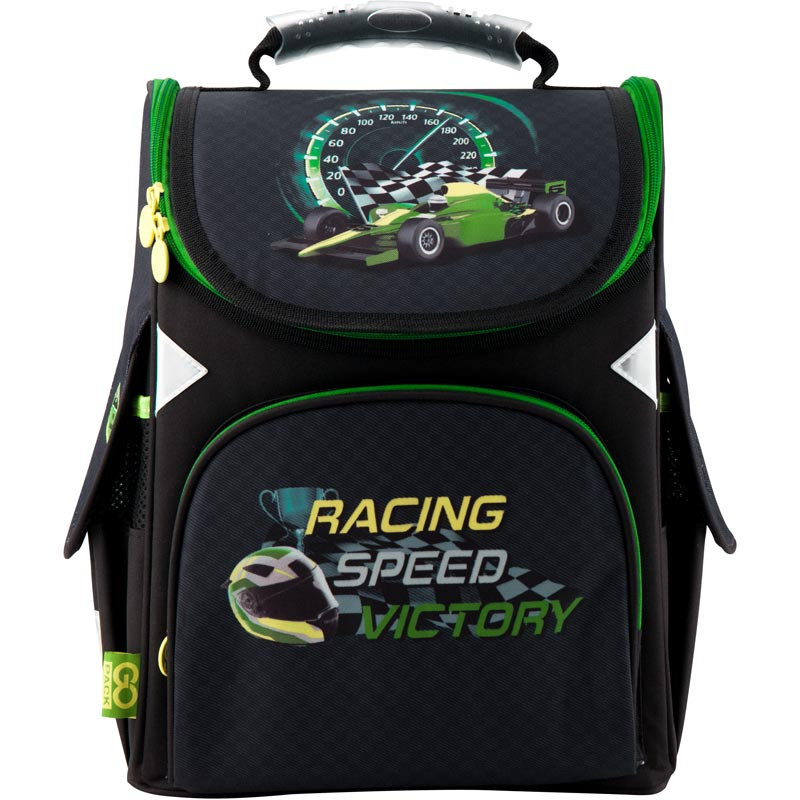 Рюкзак школьный каркасный GoPack 0.9 кг 34x26x13 см 11 л (go19-5001s-11)