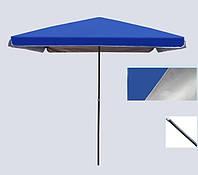 Зонт садовый с клапаном, прямоугольный 2х3 м, фото 1