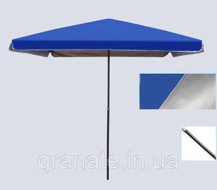 Зонт садовый с клапаном, прямоугольный 2х3 м