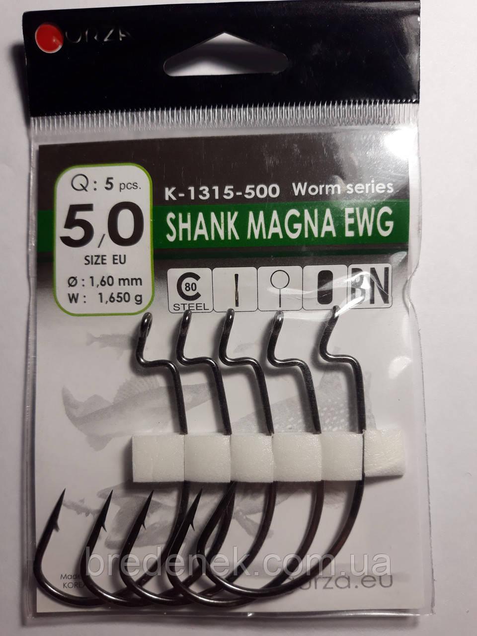 Крючки Gurza Shank Magna EWG № 5/0