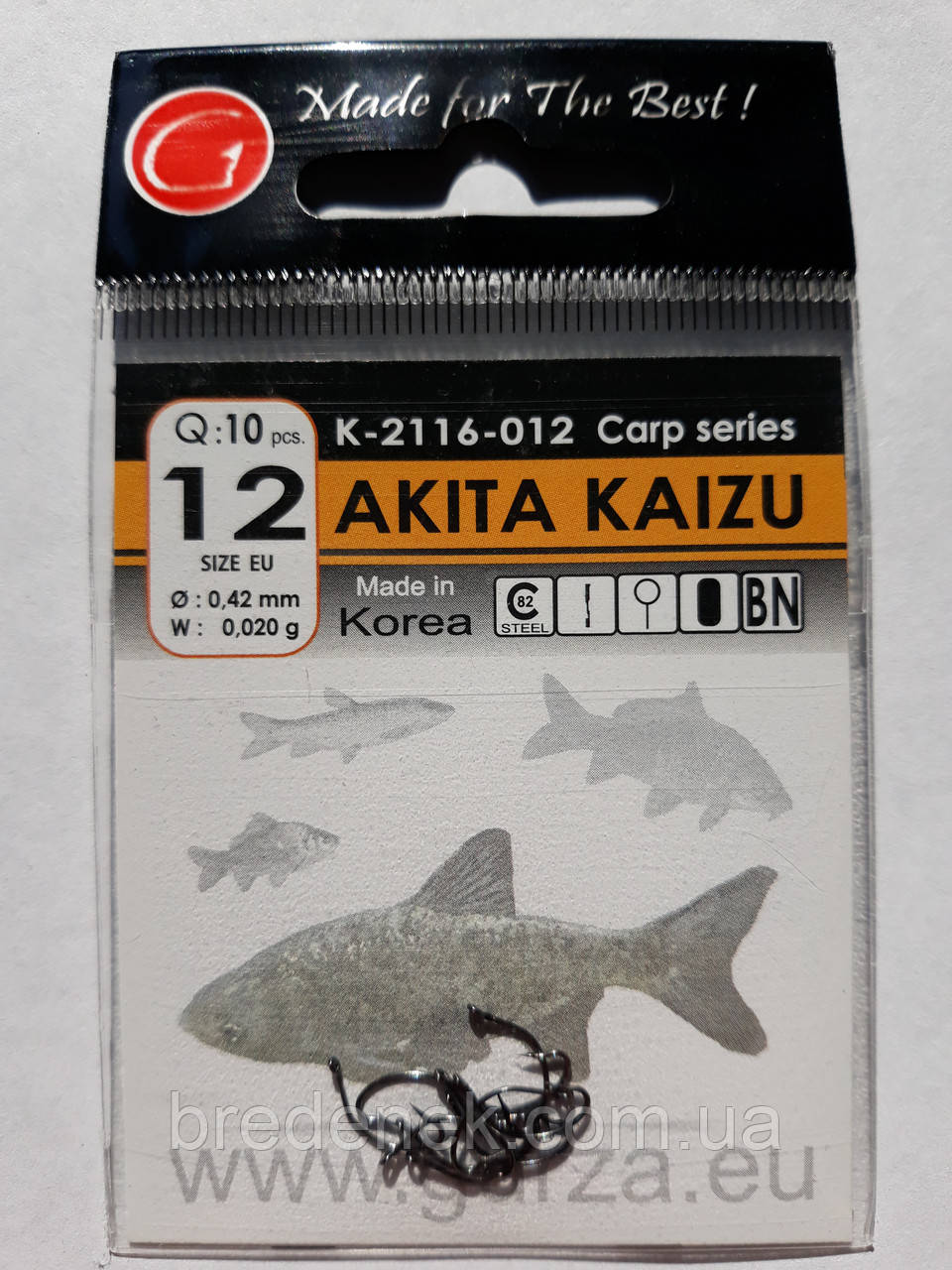 Крючки Gurza akita kaizu № 12