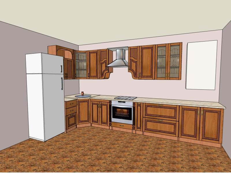 Кухня Юля Нова в Красилове