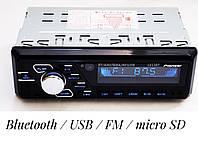 Автомагнитола с флешкой и блютузом Bluetooth \ USB \ micro SD \ FM