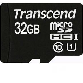 Карта памяти Transcend MicroSDHC 32GB Class 10 + SD адаптер, фото 2
