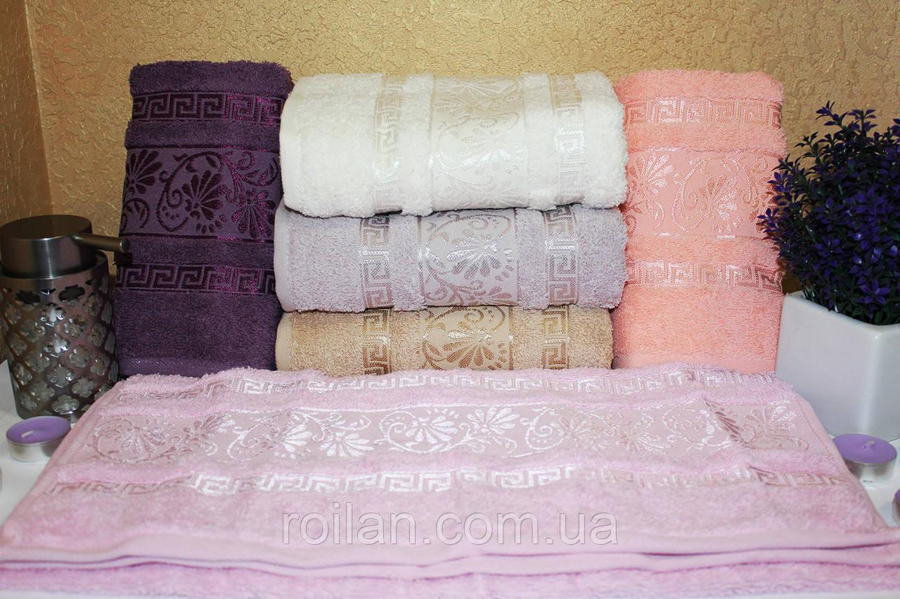 Банные турецкие полотенца Цветок - Версаче