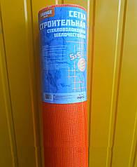 Сетка строительная фасадная штукатурная армирующаядля наружных работ 160г\м2 5*5мм МастерУкраина