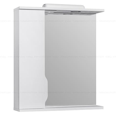 Зеркало с подсветкой для ванной комнаты ВИСЛА Z1  65 L (белое), фото 2