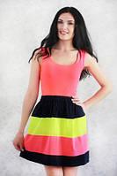 Модное летнее молодежное платье р.44,46