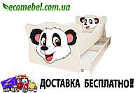 Кровать детская (ліжко дитяче) Панда фигурное Animal