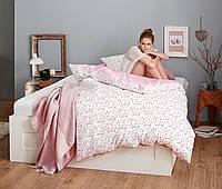 Красивый постельный двухсторонний  комплект с микрофибры  от тсм Чибо (Tchibo), Германия, фото 1