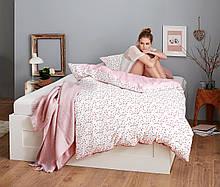 Красивый постельный двухсторонний  комплект с микрофибры  от тсм Чибо (Tchibo), Германия