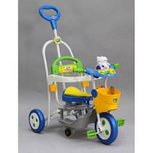 Велосипед трёхколёсный SR59-208, Синий с желтым и голубым