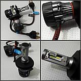 Лампочки LED H4 Hi/Low 6500K / 5000Lm (кт-2шт), 9-36V 30W IP65, фото 2