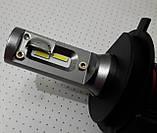 Лампочки LED H4 Hi/Low 6500K / 5000Lm (кт-2шт), 9-36V 30W IP65, фото 9