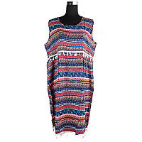 Платье летнее с бахромой C0464