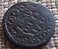 """Царская монета """"Полушка"""" 1735г. Анна Иоановна"""