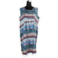 Платье летнее с бахромой C0466