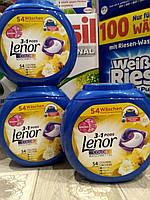 Lenor 3-в-1 капсулы для стирки 54+4 штуки