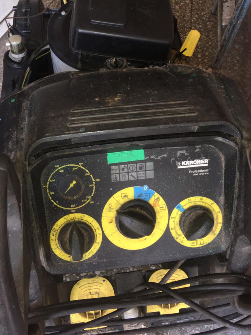 Ремонт Karcher професійних апаратів hd HDS з нагріванням і без нагріву води