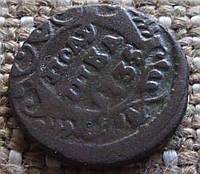 """Монета старинная """"Полушка"""" 1735г."""