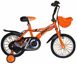 Велосипед двухколёсный LB1430Q-K115, Оранжевый с черным