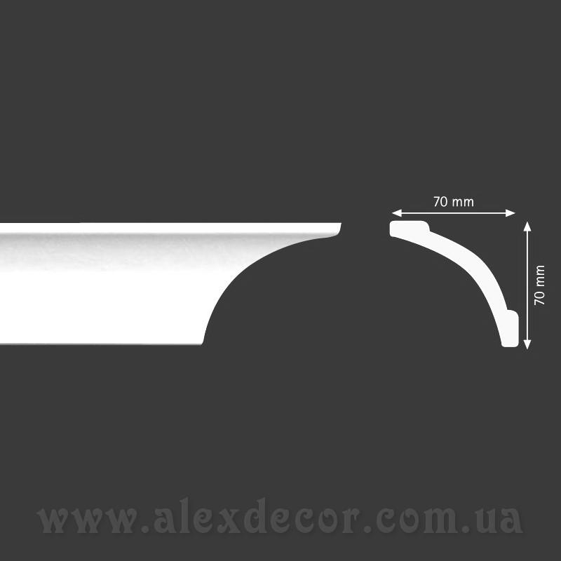 Карниз Homestar A10 (70x70)мм