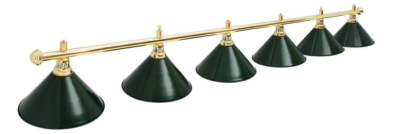 Светильник бильярдный Evergreen 6 плафона