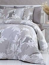 Комплект постельного белья  200*220 TM PAVIA CRYSTAL BROWN(KAHVE)
