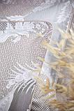Комплект постільної білизни 200*220 TM PAVIA CRYSTAL BROWN(KAHVE), фото 5