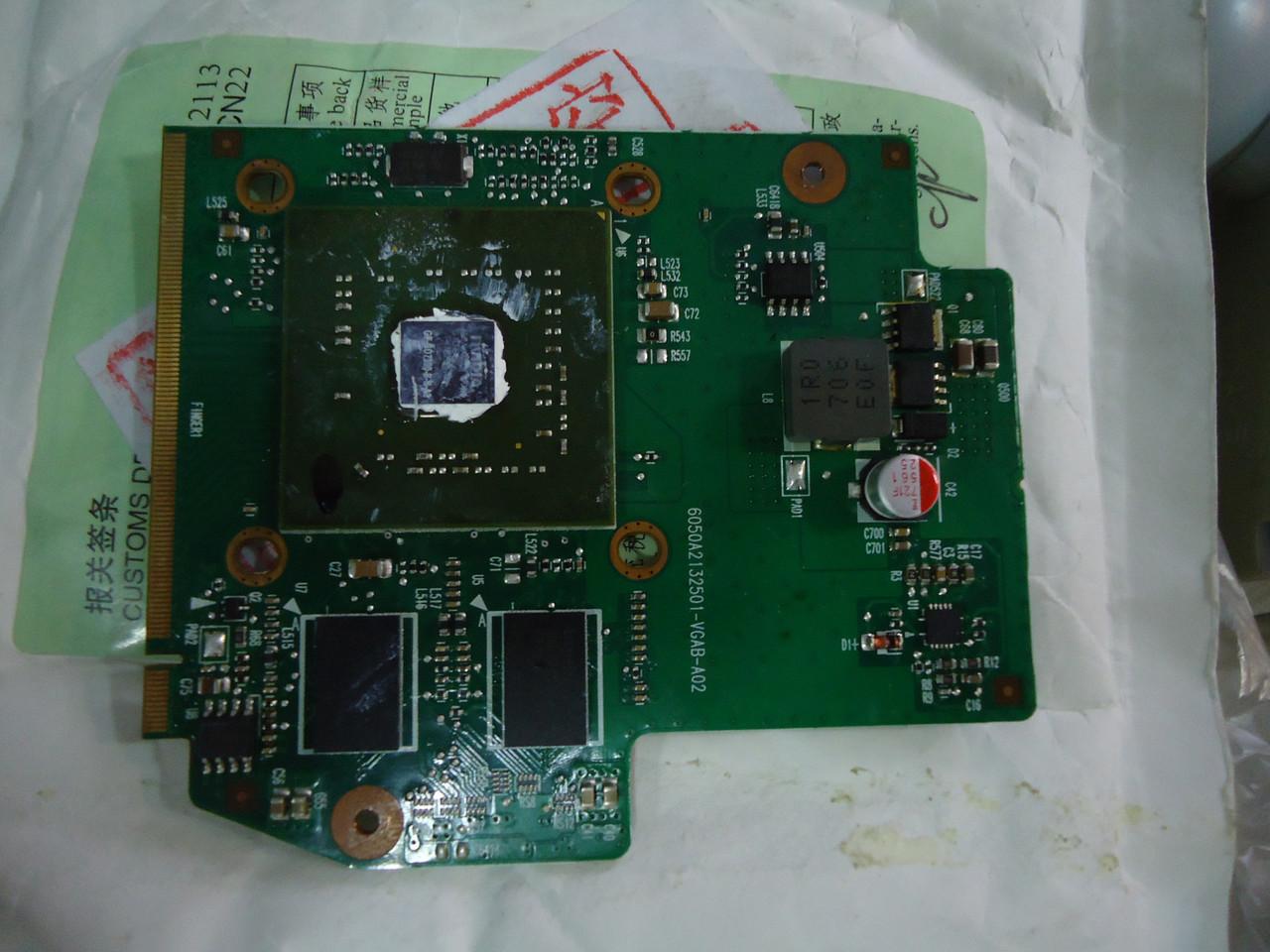 Видеокарта Toshiba A200 Nvidia G72MV 128MB VGA Video Card V000100500 6050A2132501-VGAB-A02