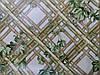 Обои влагостойкие мойка Тростник 6555-04 коричневый + зеленый