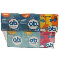 Набор тампонов O.B. (6 упаковок по 8 штук)