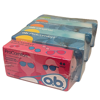 Набор тампонов O.B. (6 упаковок по 16 штук)