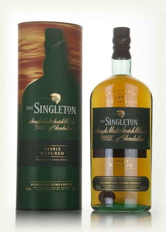 Виски Singleton Of Glendullan Double Matured (Синглтон Дабл Матуред) 40%, 1 литр