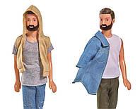 Кукла мальчик Кевин с бородой Городской стиль Simba 5733241