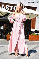 Женское платье на пуговицах 9081-Н(ш) Код:954358465